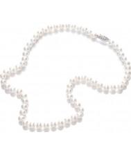 Purity 925 PUR6145 Hyvät White Pearl 45cm kaulakoru