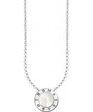 Thomas Sabo KE1492-029-14-L45v Hyvät hopea allekirjoitus klassinen kaulakoru helmiäisiä